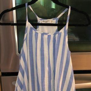 Abercrombie kids stripe dress